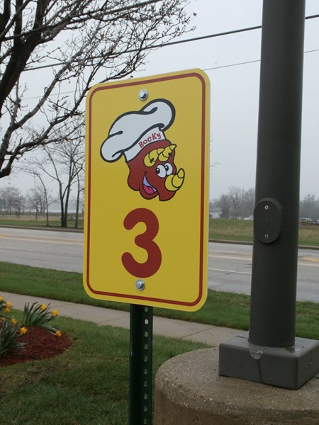 Parking Lot Signs for Restaurant